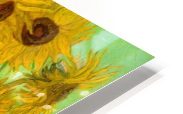 Twelve Sunflowers by Van Gogh HD Sublimation Metal print