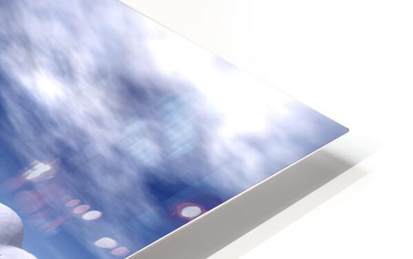 citadelle de glace HD Sublimation Metal print