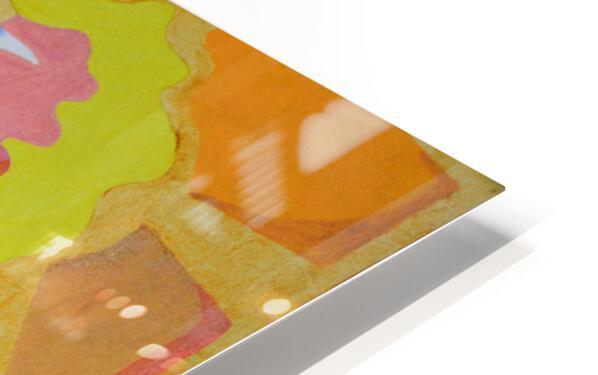 partage HD Sublimation Metal print