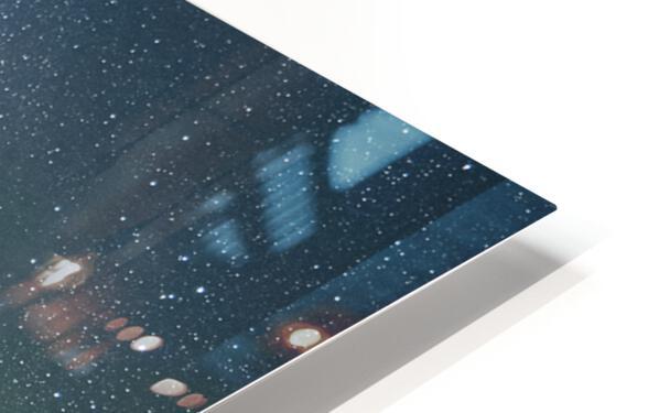 Milky Way Above The Badlands HD Sublimation Metal print
