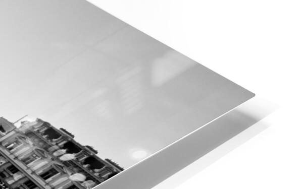 Alone in Paris Impression de sublimation métal HD