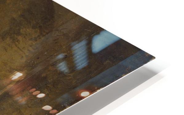 Examining an Old Church HD Sublimation Metal print
