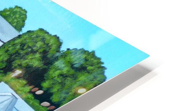 Bailing Hay HD Sublimation Metal print