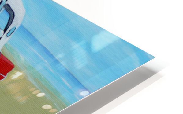 Beach T Bird HD Sublimation Metal print