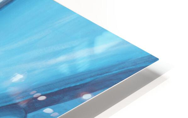 Blue 32  HD Sublimation Metal print