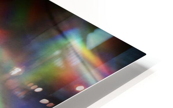 CD Rainbows HD Sublimation Metal print