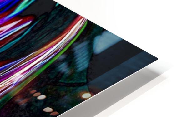 Colorful Distortions HD Sublimation Metal print