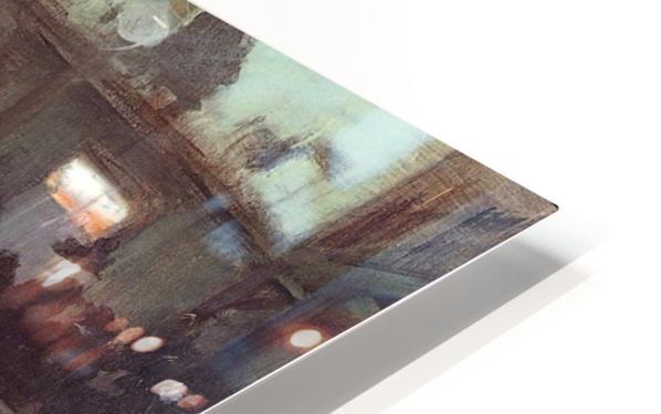 Au Moulin de la Galette HD Sublimation Metal print
