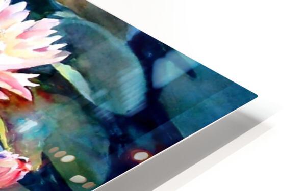 Koi Pond HD Sublimation Metal print