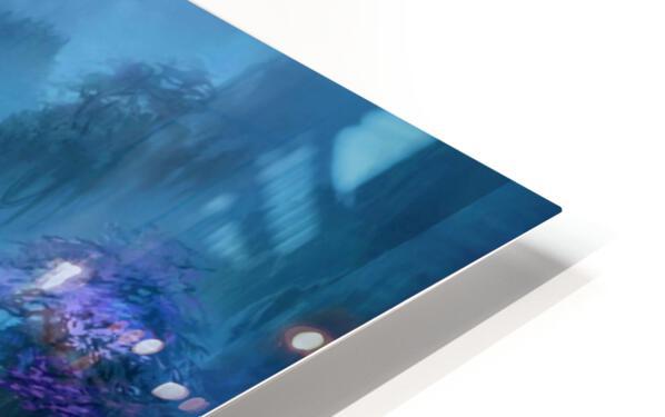 Blue Ravine HD Sublimation Metal print