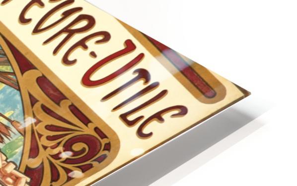 Biscuits Lefevre-Utile Impression de sublimation métal HD