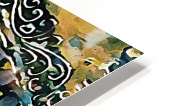 Eyes of Buddha HD Sublimation Metal print