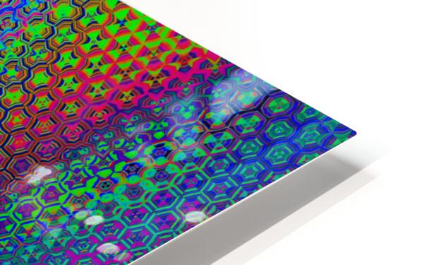psychedelic wave HD Sublimation Metal print