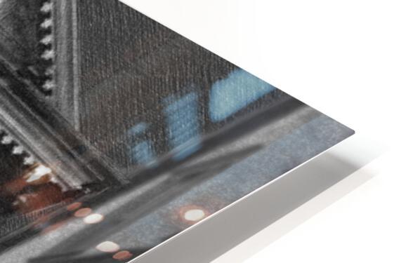French Quarter Lamp Light HD Sublimation Metal print