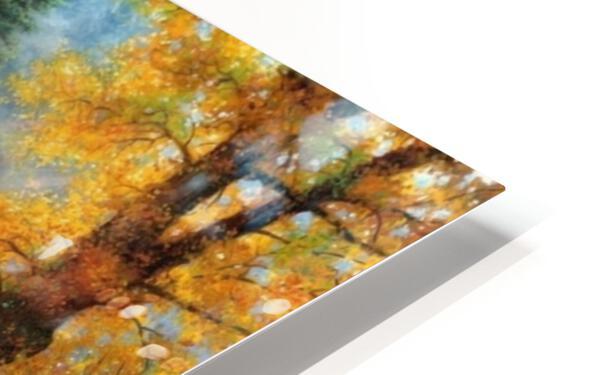 Galloping River HD Sublimation Metal print