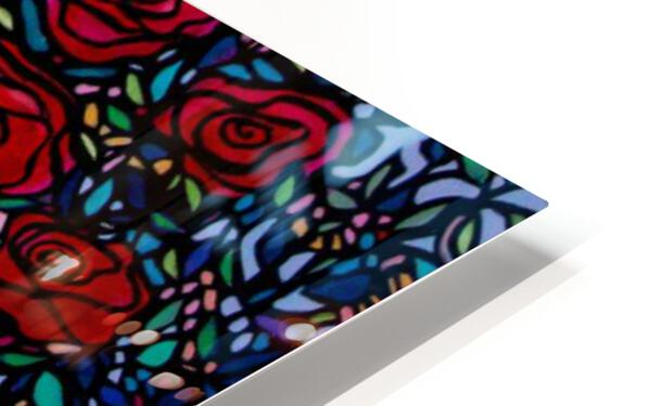 Garden of Roses HD Sublimation Metal print
