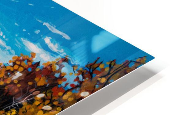 Moberly Lake HD Sublimation Metal print