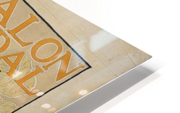 Alexandre de Riquer - Salon Pedal HD Sublimation Metal print