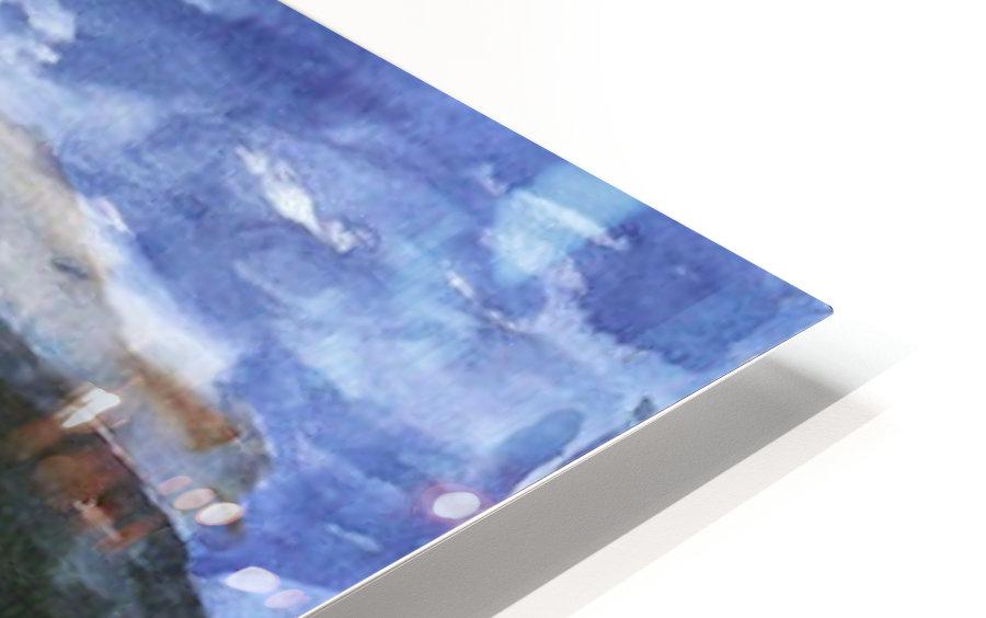 Walchensee -4- by Lovis Corinth HD Sublimation Metal print