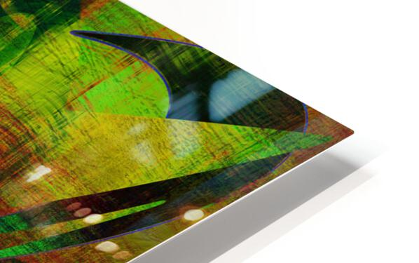 ABSTRACT-1007 SPATIAL HD Sublimation Metal print