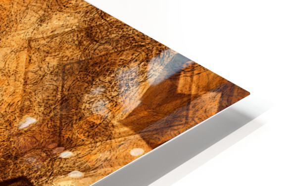 ABSTRACT-1008 Sociability HD Sublimation Metal print
