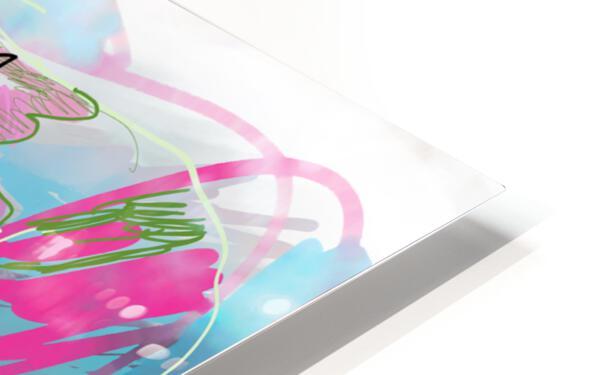 Summer Resort Abstract  HD Sublimation Metal print