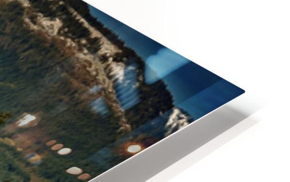 Comox Glacier Panorama HD Sublimation Metal print