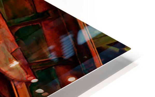 Rowboat Abstract HD Sublimation Metal print