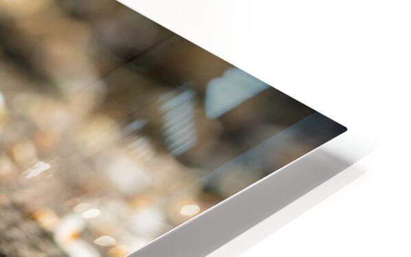 Confettis sur bitume Impression de sublimation métal HD