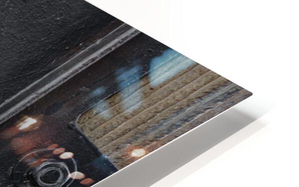 Une roue figee dans le temps HD Sublimation Metal print