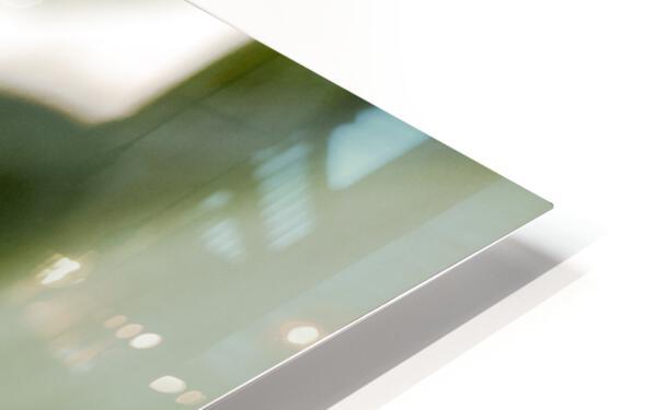Une larme de hosta  HD Sublimation Metal print