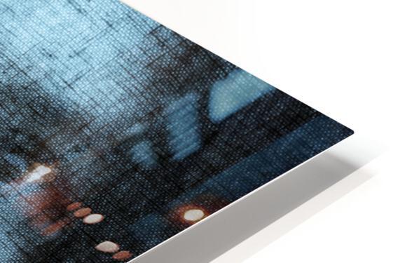 Un regard bleu - A Blue Gaze HD Sublimation Metal print