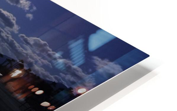Reflections - Beneath the Moonlit Skies HD Sublimation Metal print