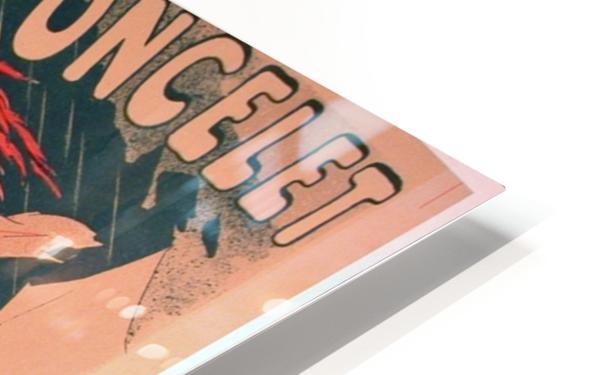 Original 1896 Lithograph Poster Pastilles Poncelet HD Sublimation Metal print