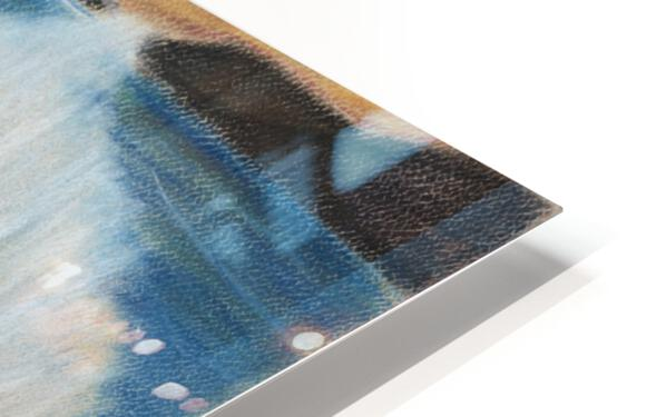 RA 002 - גל מתנפץ - crashing wave HD Sublimation Metal print