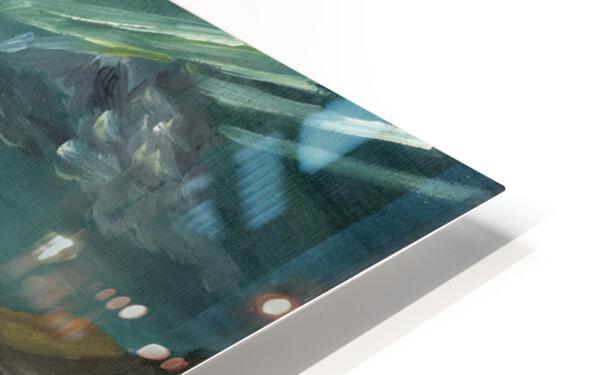 RA 040 - אור המגדלור - Lighthouse light HD Sublimation Metal print