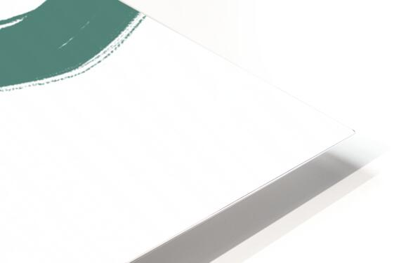 Road Green HD Sublimation Metal print