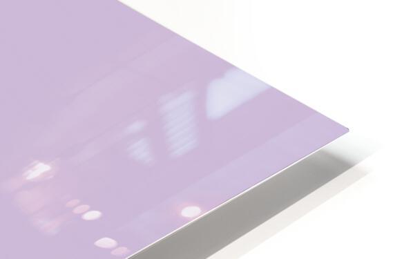Lilac Star HD Sublimation Metal print