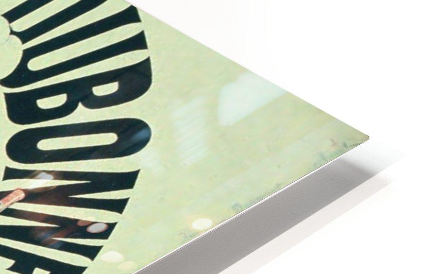 Quinquina Dubonnet - Aperitif dans tous les Cafes poster HD Sublimation Metal print