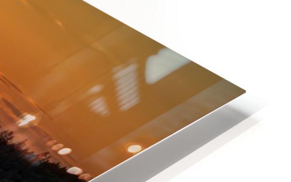 Coucher de soleil au Bic HD Sublimation Metal print