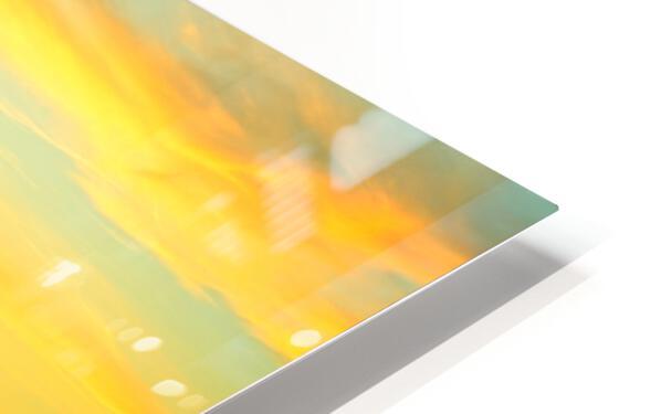 Sunset over Lucerne Switzerland HD Sublimation Metal print