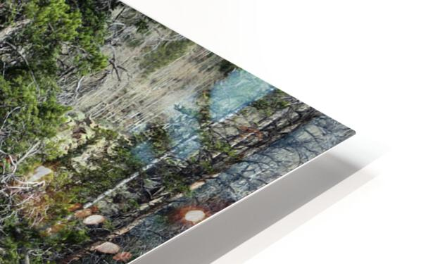 Upper Provo River HD Sublimation Metal print