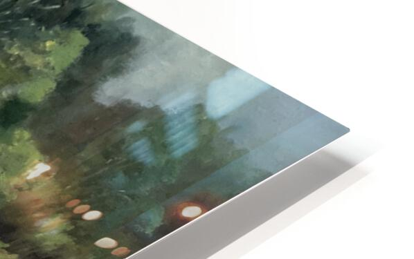 Calhoun pond HD Sublimation Metal print