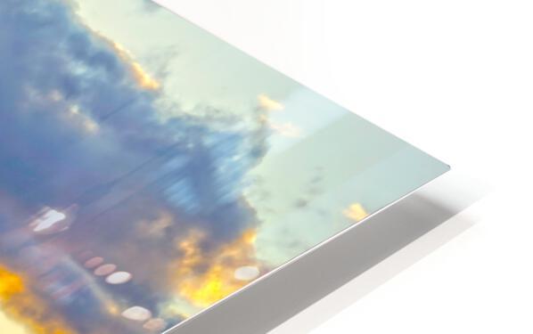 Sunset over Kaula Bay Hawaii HD Sublimation Metal print