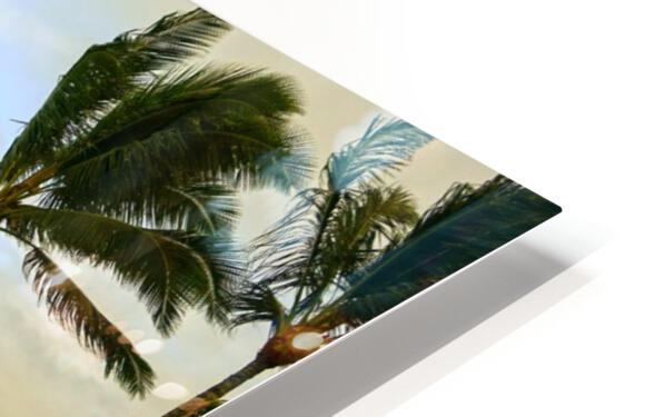 The Island of Mokoli  i from Oahu at Sunset HD Sublimation Metal print