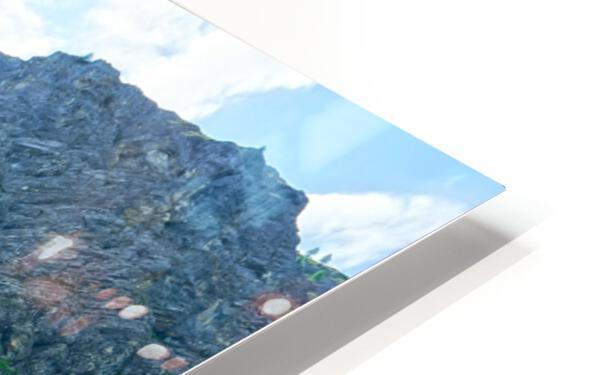 Engstligen Falls Adelboden Switzerland in the Bernese Highlands HD Sublimation Metal print