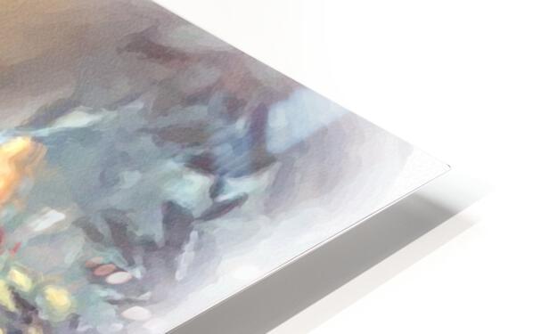 Curious Bear  HD Sublimation Metal print