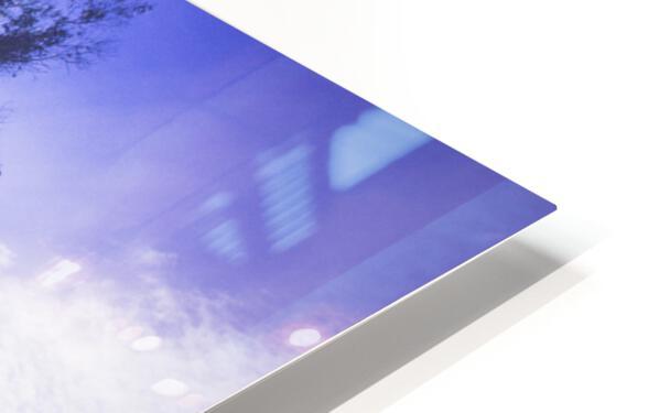 Rays of Light HD Sublimation Metal print