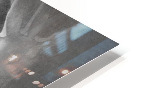 1960 Lon Keller Quarterback Remix Art HD Sublimation Metal print