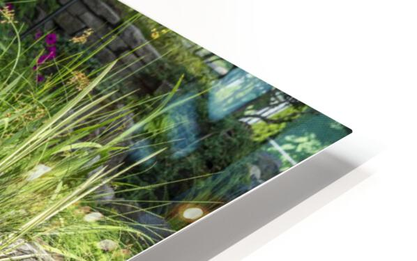 Divin Jardin d   eau   Divine Water Garden Impression de sublimation métal HD